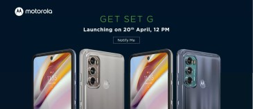 Motorola teases key specs of both the Moto G60 and Moto G40 Fusion before launch