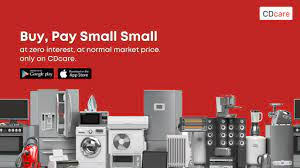 Nigerian startup – CDcare – allows its customers to pay for appliances in instalment with zero interest