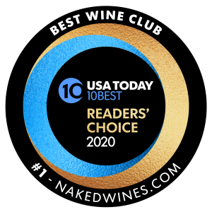 """Nakedwines.com wins the """"Best Wine Club in America"""" title from USATODAY"""