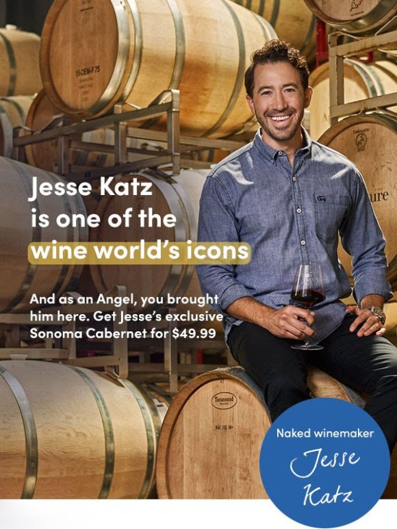Jesse Katz releases exclusive project for Naked Wines
