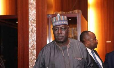 Former Secretary to the Government of the Federation (SGF), David Babachir Lawal