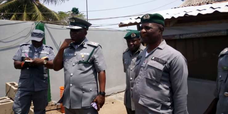 Comptroller Peters and his men still on waterways at Yekeme and Badagry outstations 3