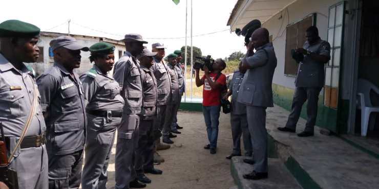 Comptroller Peters and his men still on waterways at Yekeme and Badagry outstations
