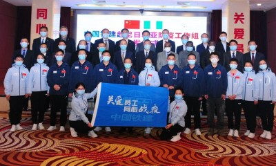 Chinese medical Experts CCECC in Nigeria