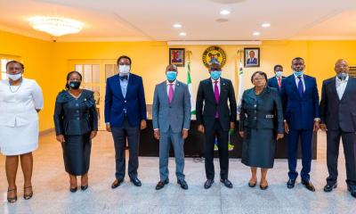 Lagos State Governor, Babajide Sanwo-Olu, on Monday swore in a Judicial Panel of Inquiry