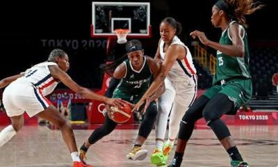 D'Tigress Lose Second Game Against France at Tokyo Games