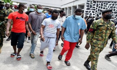 Nigerian Navy Hands Over 10 Convicted Pirates to Prison Authorities