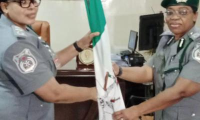 Ag. DCG Katherine Ekekezie Officially Transfers Staff of Office to ACG Modupe Aremu