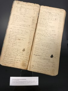 State Library of Ohio Fist Accession Book