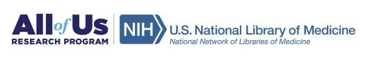 NNLM All of Us Logo