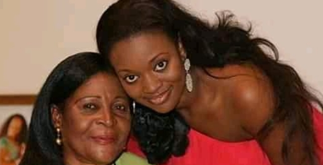 Pictures of Sarkodie, Jackie Appiah, and Lil Win with their mothers 5