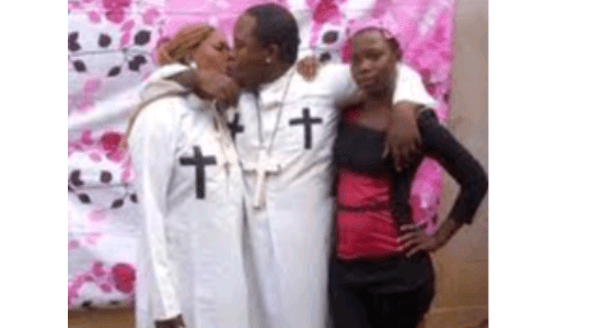 SHOCKING: Prophet Arrested For Sharing Photos Of Himself Kissing His Wife And House Girl