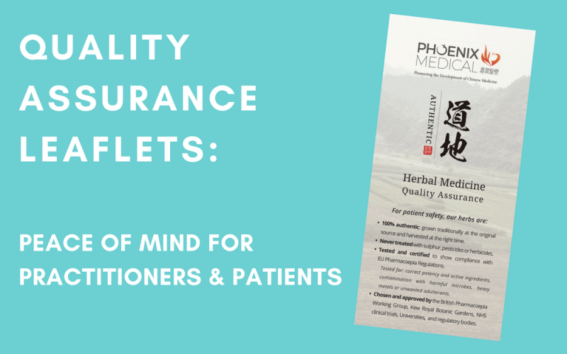 Quality assurance reassure your patients news phoenix medical quality assurance leaflets reheart Images