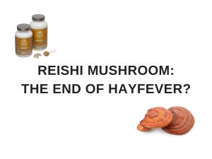 reishi for hayfever