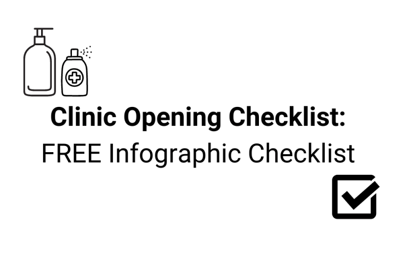 Clinic Opening Checklist