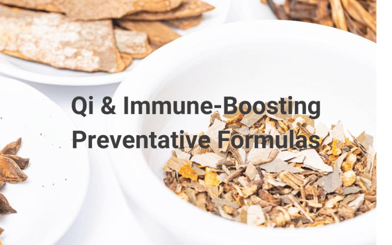 Immune-Boosting Preventative Formulas