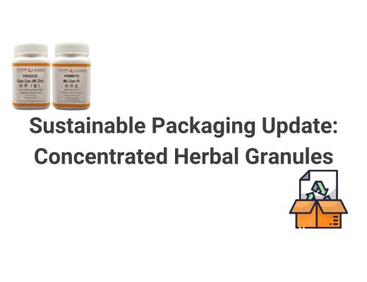 Granule Packaging Update