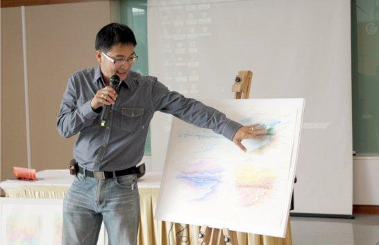 เรียนศิลปะกับครูหนุ่ม