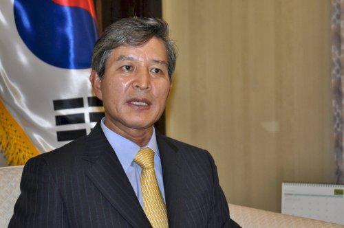 นายชุง แฮ มูน เอกอัครราชทูตเกาหลีประจำประเทศไทย