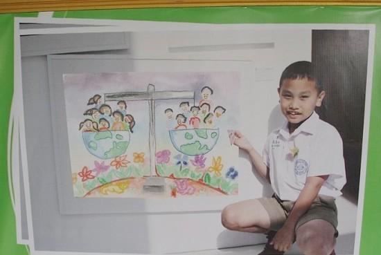 เด็กภูเก็ตสร้างชื่อกระฉ่อน ชนะเลิศวาดภาพนานาชาติ
