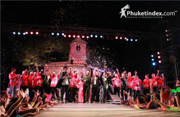 Colorful Countdown Phuket 2012