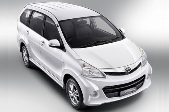 Toyota เปิดตัว โตโยต้า อเวนซ่า โฉมใหม่ Toyota Avanza 2012