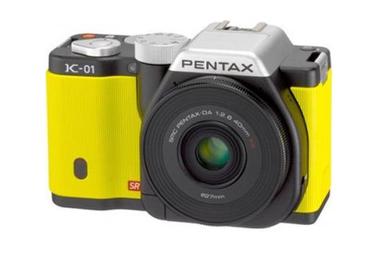Pentax K-01 กล้อง mirrorless รุ่นใหม่