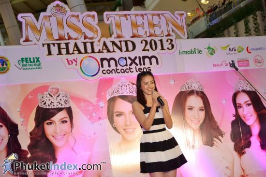 Miss Teen Thailand 2013 รอบคัดเลือกที่ภูเก็ต