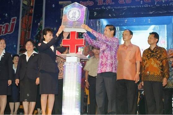 พ่อเมืองภูเก็ต เปิดงานเทศกาลของดีภูเก็ตและงานกาชาด 2557