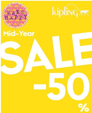 Kipling Mid Year Sale 2014 ลดสูงสุดถึง 50% (เริ่ม 5 มิ.ย.57)