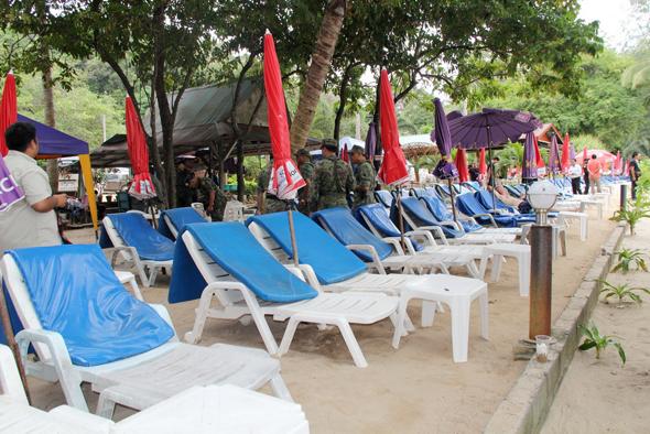 เทศบาลเมืองป่าตอง ตรวจหาดพาราไดส์-หาดไตรตรัง