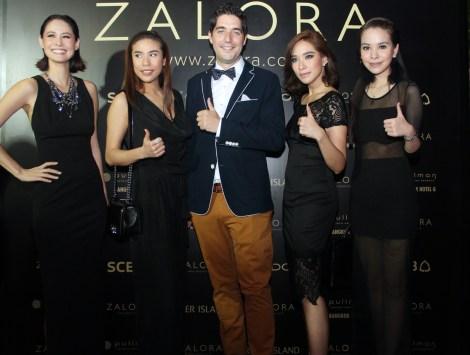 'พลอย – เฌอมาลย์' ร่วมปาร์ตี้ฉลองครบรอบ 2 ปี ZALORA Thailand