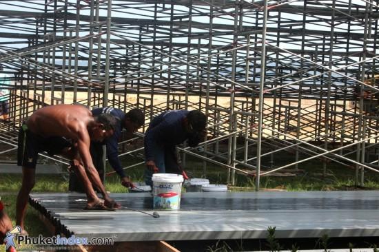 การก่อสร้างสามนามและอุปกรณ์กีฬา เอเชียนบีชเกมส์ (สะพานหิน)