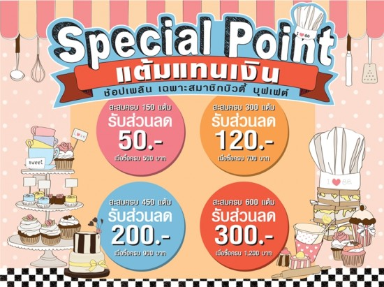 promotion specialpoint beauty buffet