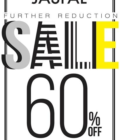 โปรโมชั่น JASPAL FURTHER REDUCTION Sale ลดสูงสุด 60% (เริ่ม 29 ม.ค.58)