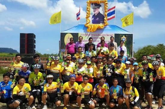 คณะกรรมการจัดงานท้าวเทพกระษัตรี  ท้าวศรีสุนทร ประจำปี 2558   จัดแข่งขันจักรยานคันทรีครอส