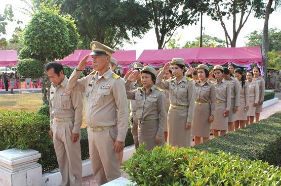 พิธีถวายราชสักการะพระบาทสมเด็จพระจุลจอมเกล้าเจ้าอยู่หัว รัชกาลที่ 5 เนื่องในวันท้องถิ่นไทย ประจำปี 2558