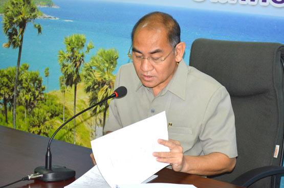 ดร.พัลลภ  สิงหเสนี รองผู้ว่าราชการจังหวัดภูเก็ต
