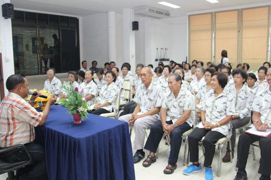 พิธีเปิดโรงเรียนผู้สูงอายุเทศบาลตำบลรัษฎา