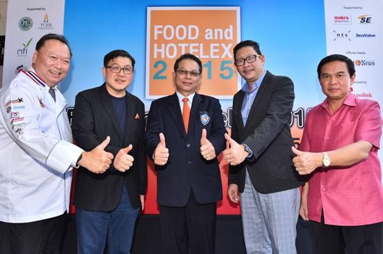ครั้งแรกในภูเก็ต กับงาน FOOD and HOTELEX 2015 สุดยอดงานแสดงสินค้าอาหารและบริการที่ยิ่งใหญ่ที่สุด