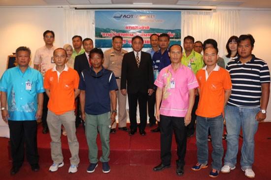 ท่าอากาศยานภูเก็ตจัดโครงการฝึกอบรมหลักสูตร การกู้ภัยทางทะเล