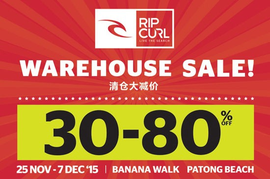Ripcurl - WAREHOUSE SALE