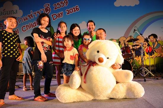 งานวันเด็กแห่งชาติประจำปี 2559 ที่ ลากูน่า ภูเก็ต