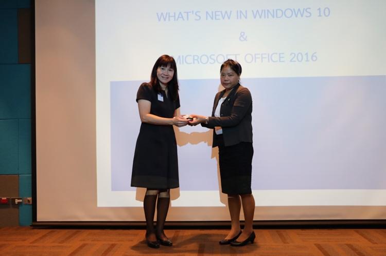 """เปิดการฝึกอบรม โครงการบรรยายให้ความรู้เรื่อง """"การใช้โปรแกรม Windows 10 และ Microsoft Office 2016 เบื้องต้น"""" ให้กับพนักงานและลูกจ้าง ท่าอากาศยานภูเก็ต"""