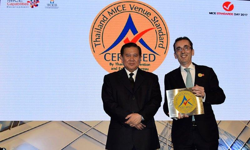 เจดับบลิว แมริออท ภูเก็ต แอนด์ สปา คว้ารางวัล มาตรฐานสถานที่จัดงานประเทศไทย (ประเภทห้องประชุม)