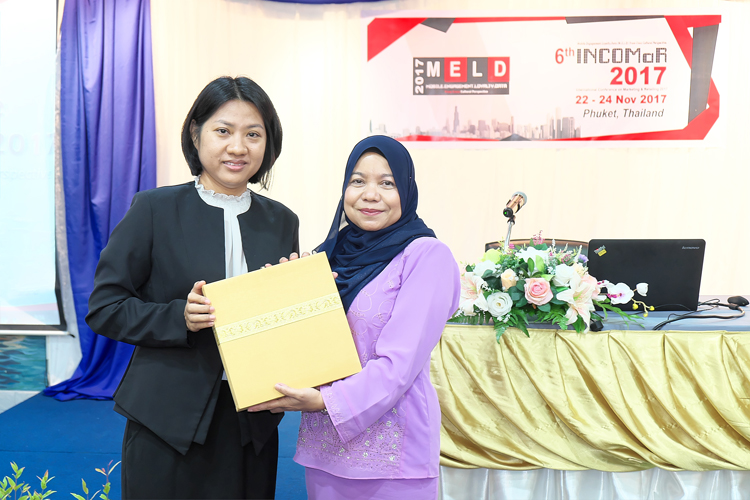 PKRU ร่วมกับ UiTM, Malaysia ประชุมวิชาการนานาชาตินวัตกรรมการตลาดและการขายปลีก