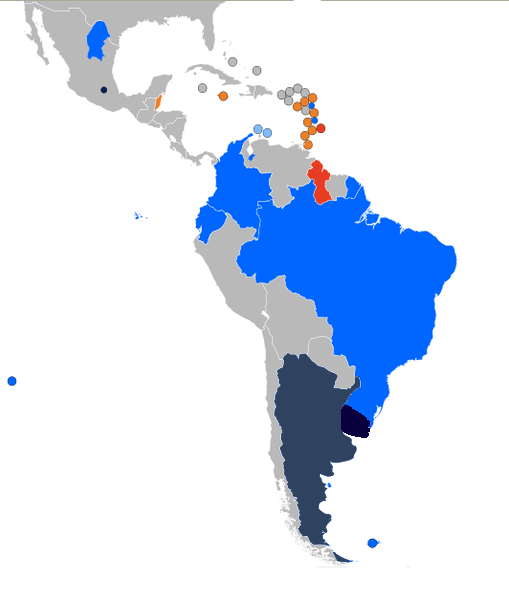 gay marriage, south america