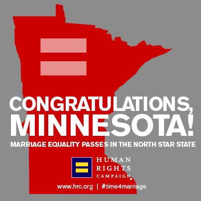 Congratulations Minnesota