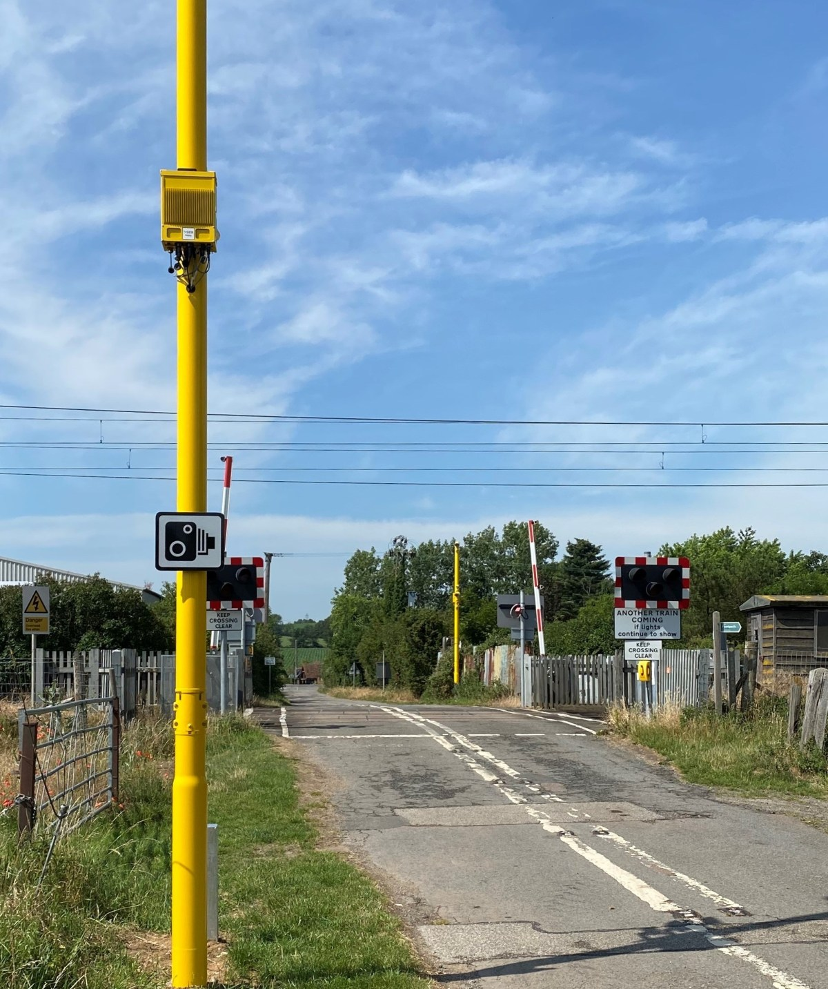 Level crossing cameras installed to catch motorists who endanger lives on the railway