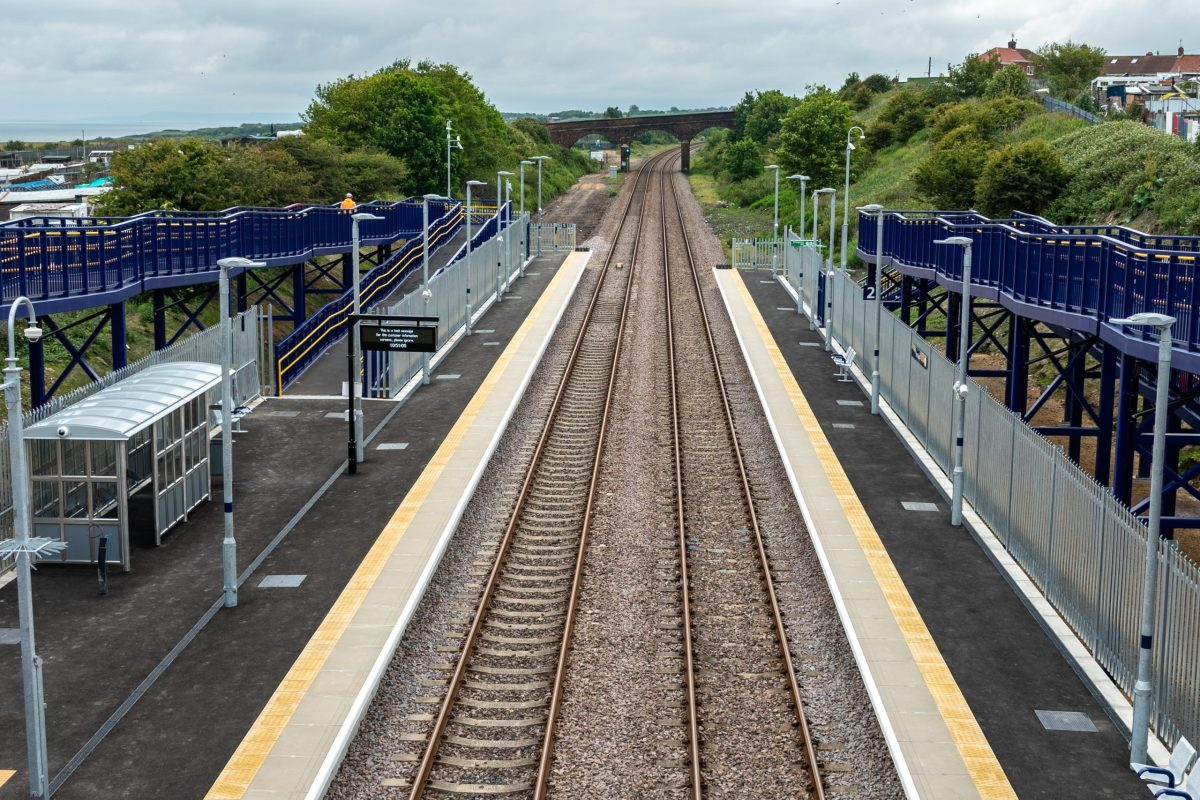Horden station enters service
